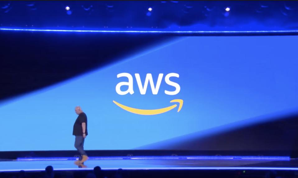 AWS CTO Werner Vogels onstage November 29, 2018 at re:Invent. Image Credit: AWS